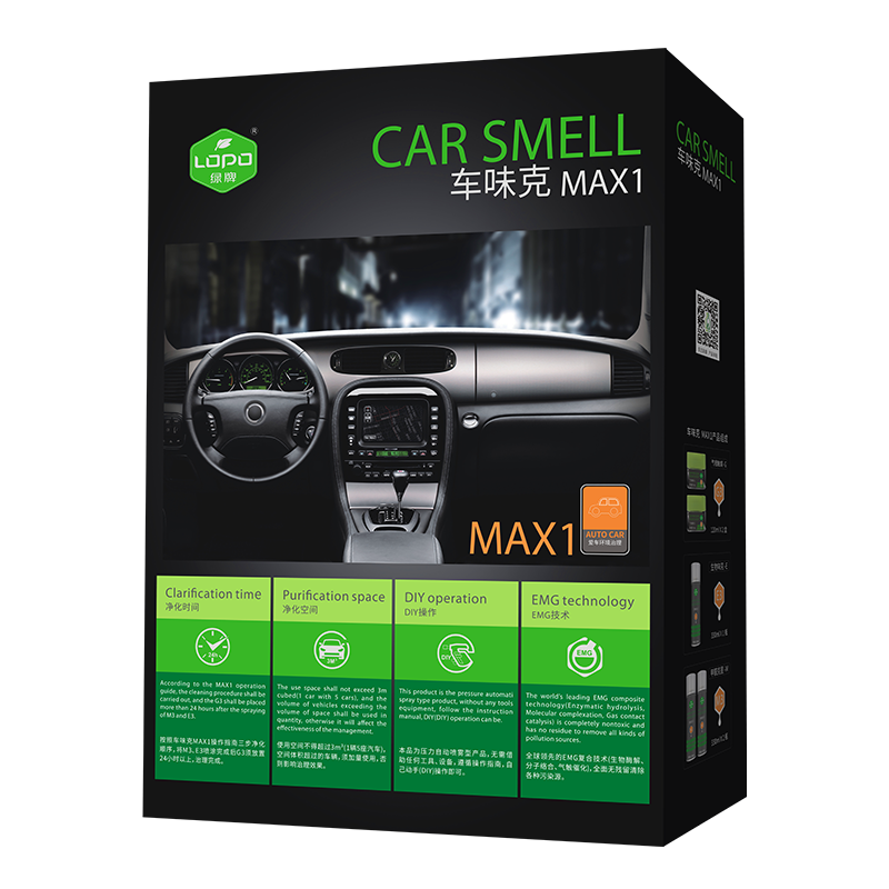 In-vehicle pollution remover MAX1